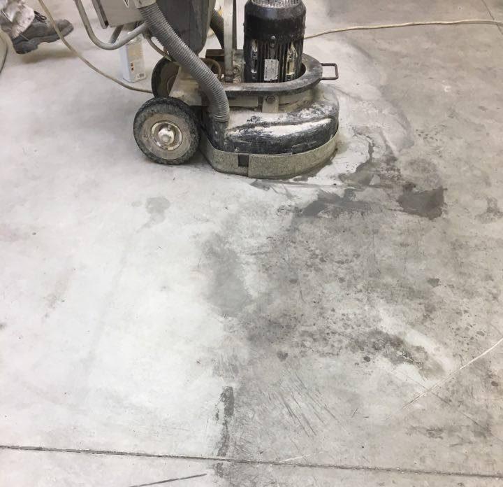 beton tisztitása