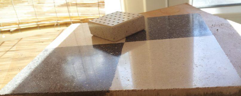 cementlap polírozás