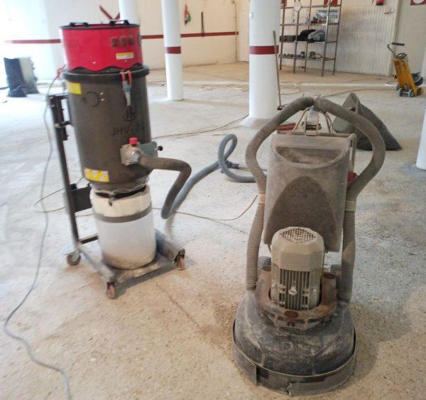 Ipari porszívó 3 motor + Longopac 1